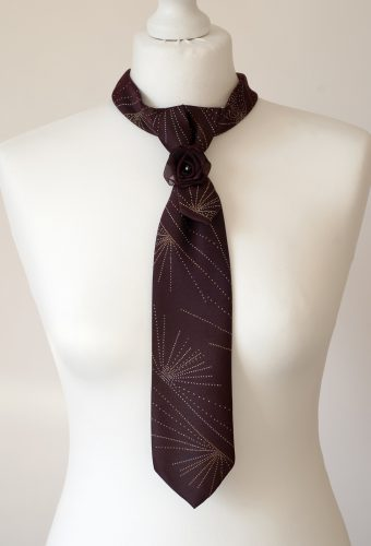 Burgundy Colour Necktie