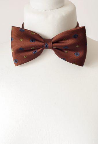 Cinnamon Colour Bow Tie