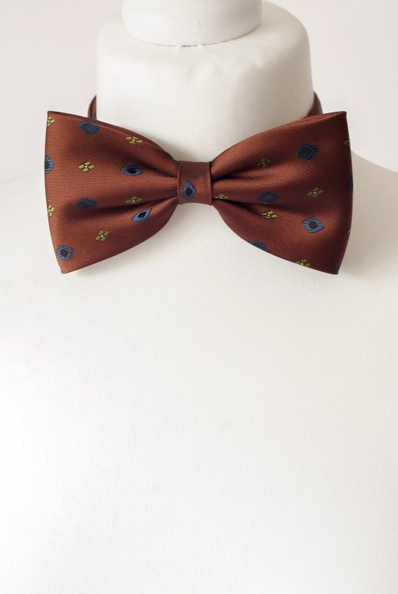 Cinnamon Colour Bow Tie