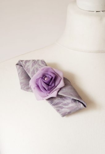 Light Purple Brooch
