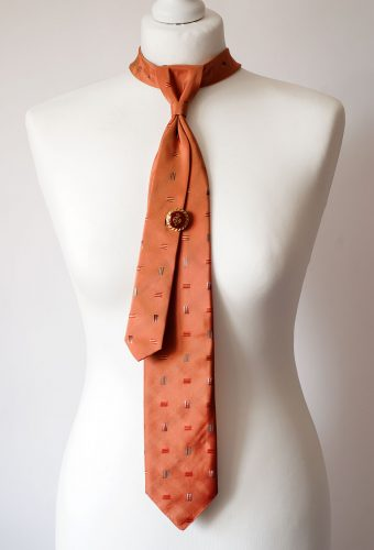 Pastel Orange Necktie