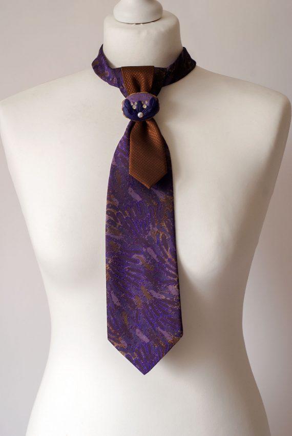 Purple Necktie