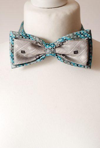 Sky Blue Bow Tie