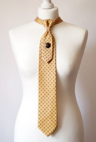 Pale Yellow Colour Necktie