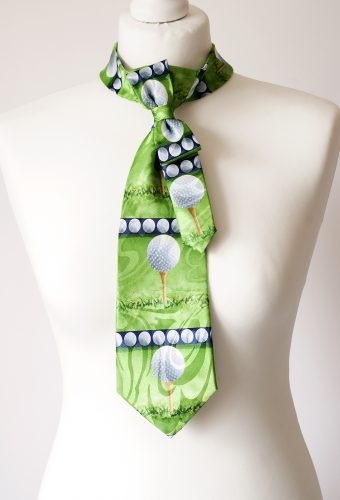 Golf Themed Necktie