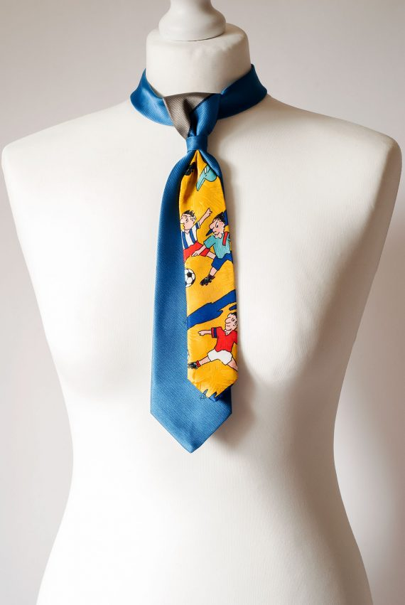 Football Themed Necktie