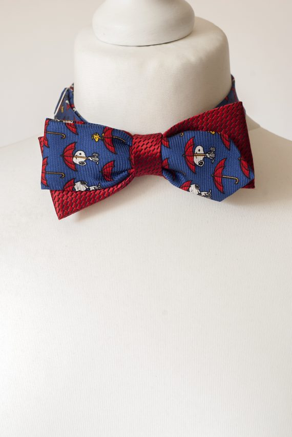 Snoopy Dog Bow Tie