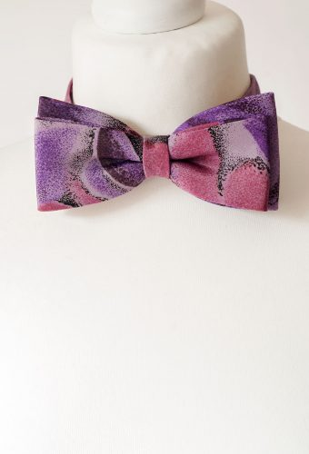 Purple Colour Bow Tie