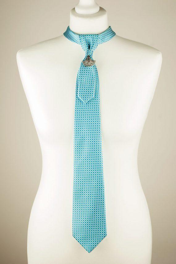Turquoise Necktie