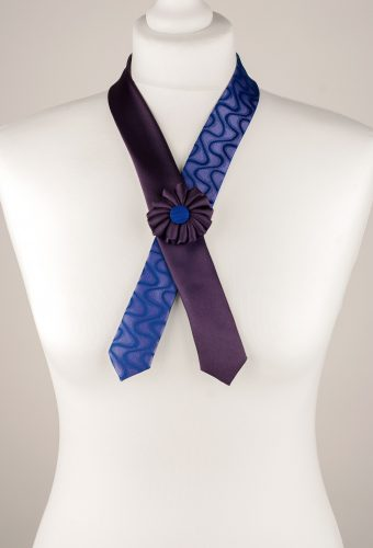Purple Cross Tie