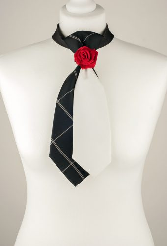Red Rose Necktie