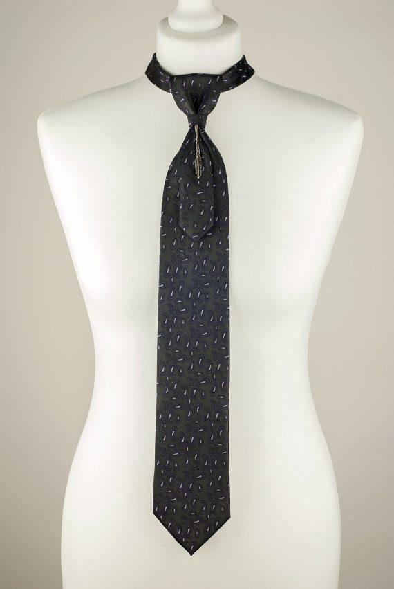 Ash Black Necktie