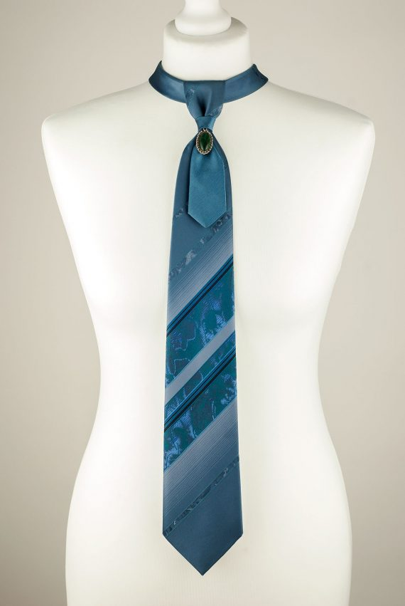 Greyish Blue Necktie
