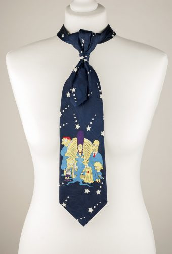 Simpsons Themed Necktie