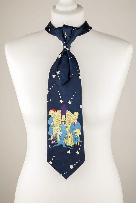 Simpsons Themed Necktie