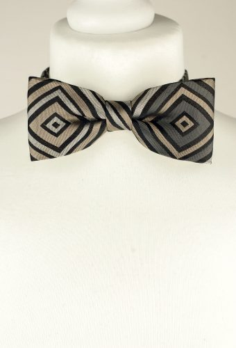 Graphic Pattern Bow Tie