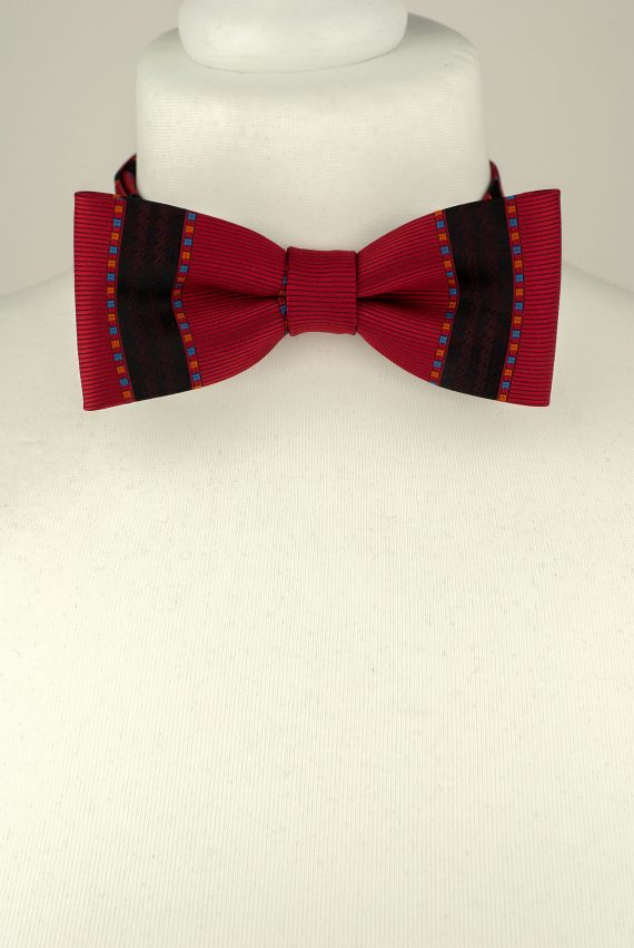 Rich Red Bow Tie