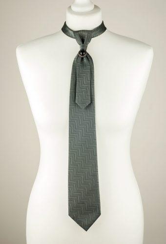 Grey Necktie