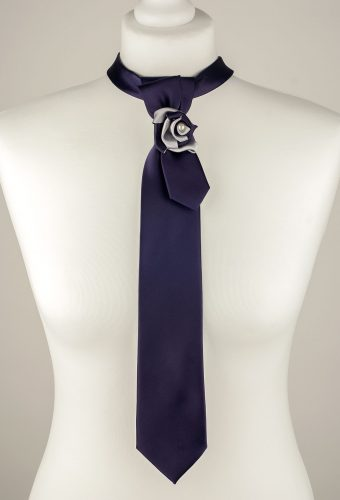 Dark Purple Necktie