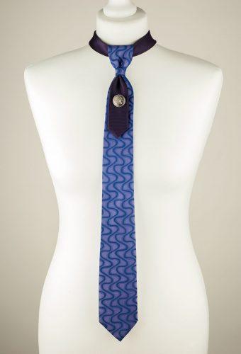 Wavy Pattern Necktie