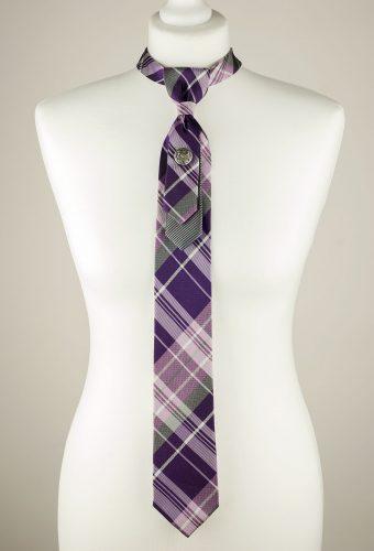 Tartan Pattern Necktie