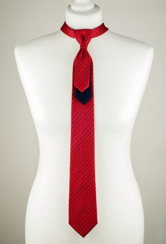Vibrant Red Necktie