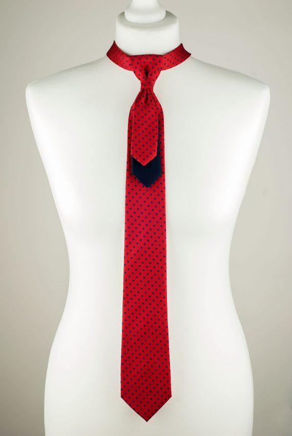 Vibrant Red Necktie