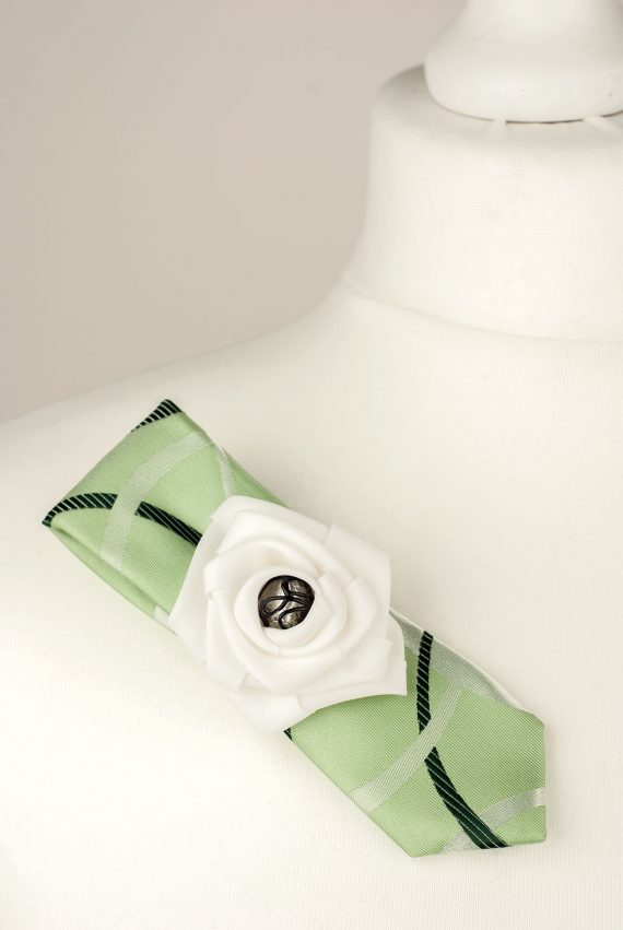 Pale Lime Brooch