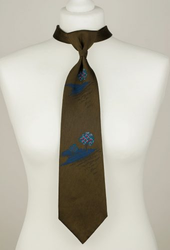 Dark Bronze Necktie