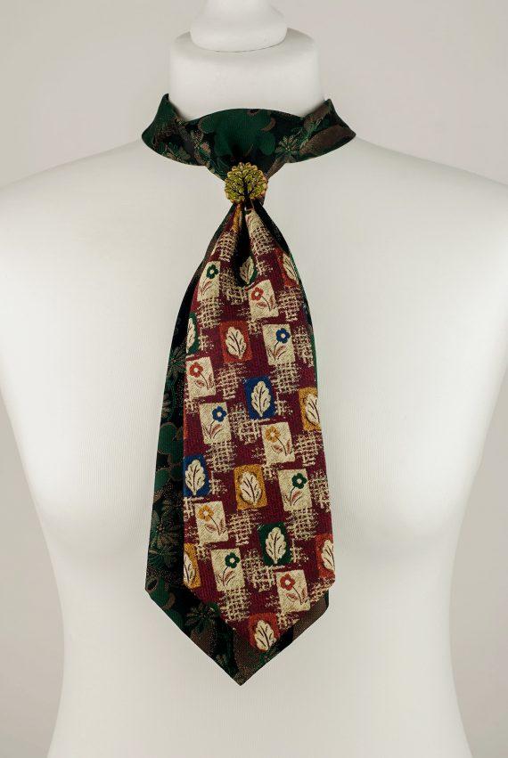 Flower and Leaf Necktie