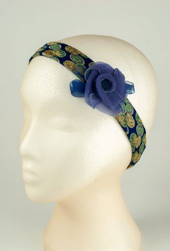 Purple Rose Headband