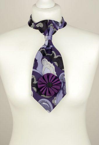 Purple Petite Necktie