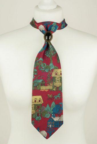 Dark Red Necktie