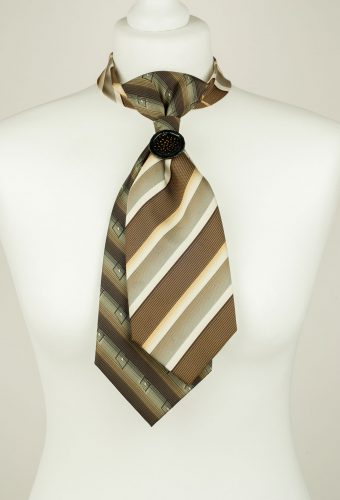 Greenish Brown Necktie