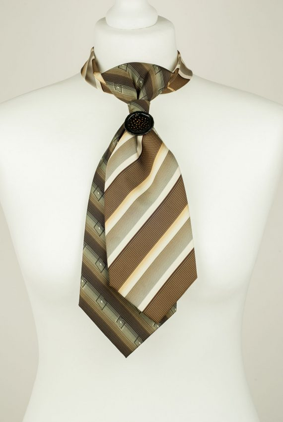 Greenish Brown Necktie
