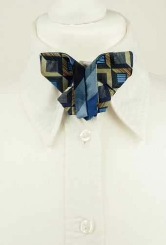 Abstract Pattern Origami Bow Tie