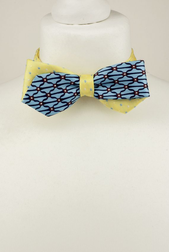 Diagonal Design Bow Tie