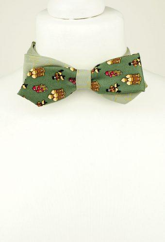 Greyish Green Bow Tie