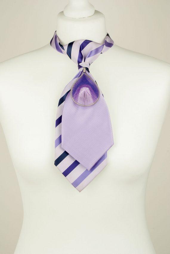 Purple Double Necktie