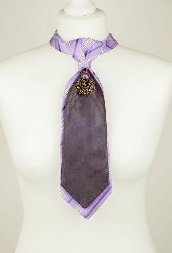 Peacock Pendant Necktie