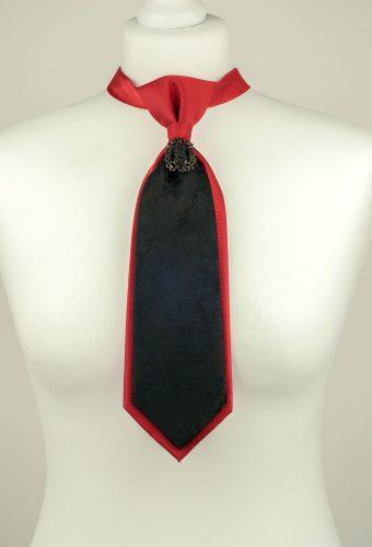 Black Paisley Necktie