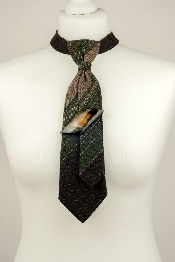 Forest Green Wool Necktie