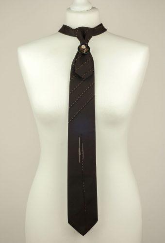 Dark Brown Mens Necktie