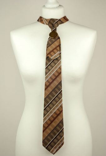 Brown Men's Necktie