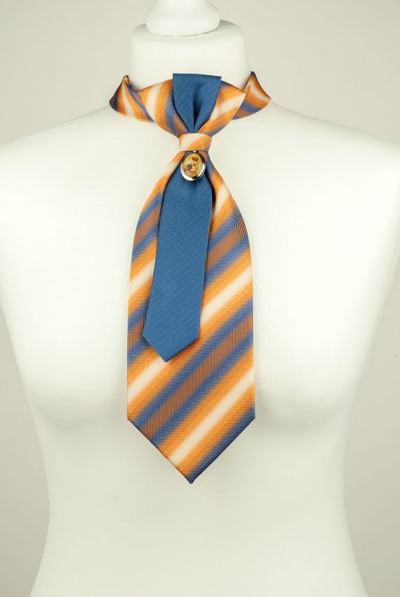 Silk Striped Necktie