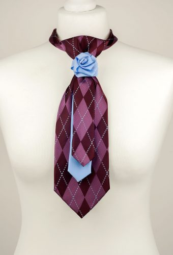 Diamond Pattern Necktie