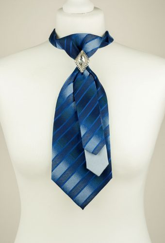 Graduating Blue Necktie