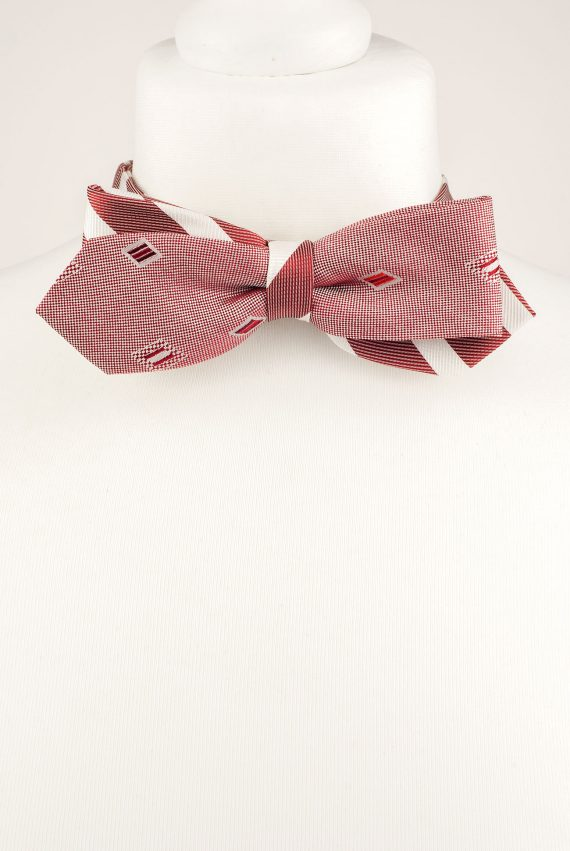 Cherry Blush Bow Tie