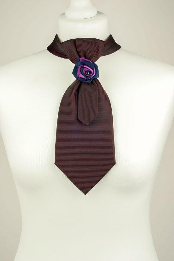 Burgundy Petite Necktie