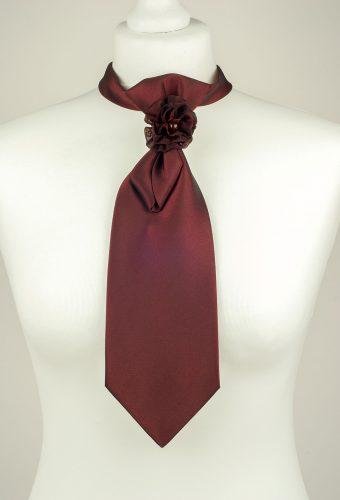 Burgundy Ladies Necktie